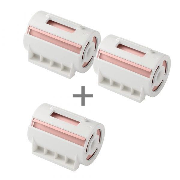네모닉&네모닉라벨 겸용 점착메모 핑크(2+1)_MPC-8016PS(3개)