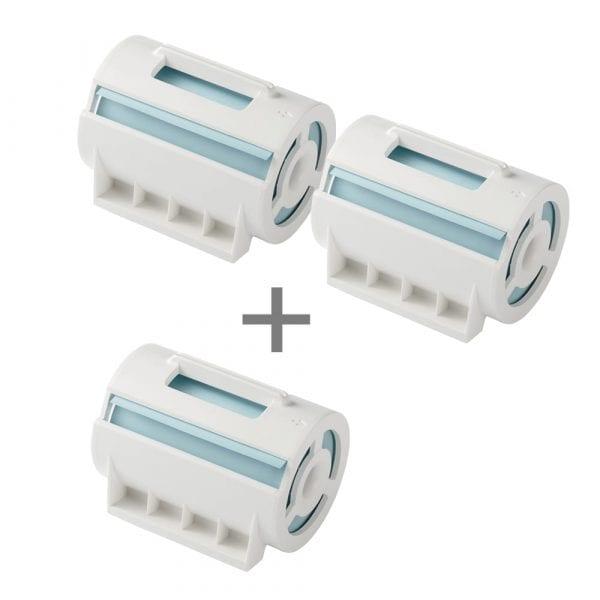 네모닉&네모닉라벨 겸용 점착메모 블루(2+1)_MPC-8016BS(3개)